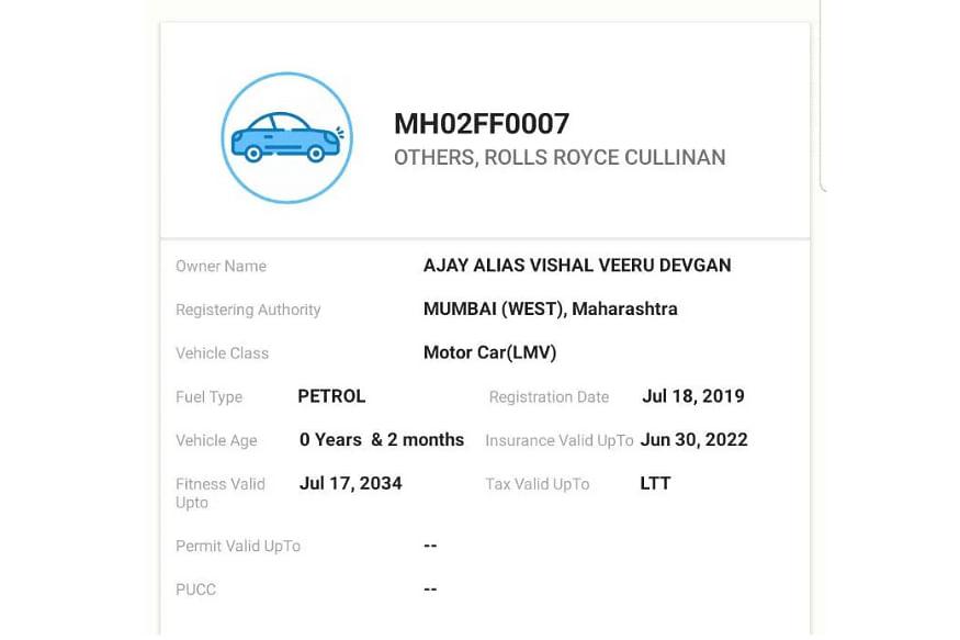 Ajay Devgn owns a swanky Rolls-Royce Cullinan Luxury SUV worth Rs 6.95 Crore
