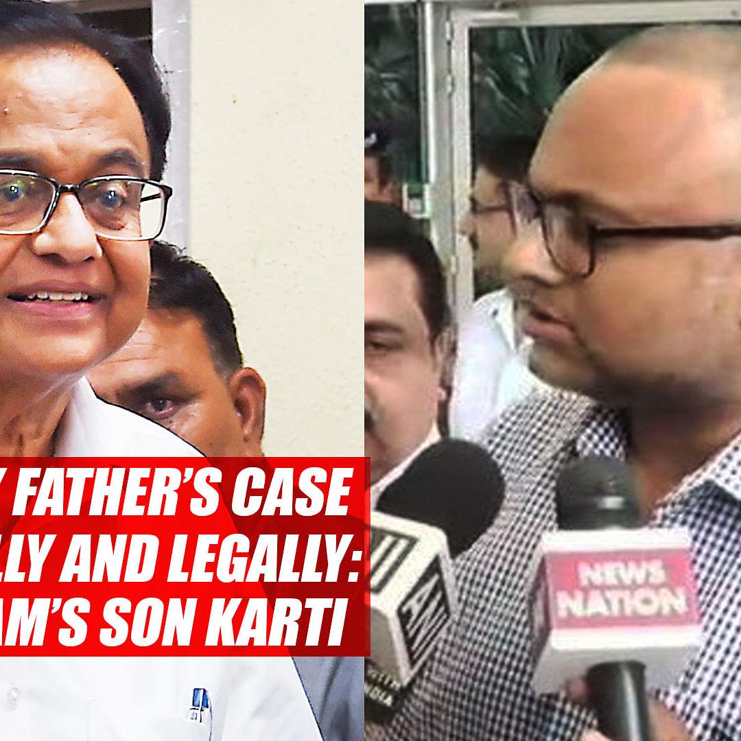 Will Fight My Father's Case Both Politically And Legally: P Chidambaram's Son Karti