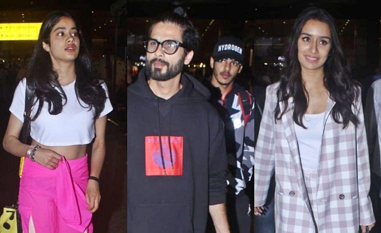 Paparazzi Files: Janhvi Kapoor, Shahid Kapoor, Shraddha Kapoor and others spotted
