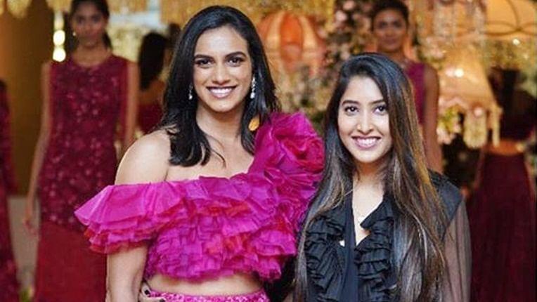 BWF World Championship winner PV Sindhu turns showstopper for designer Shriya Bhupal