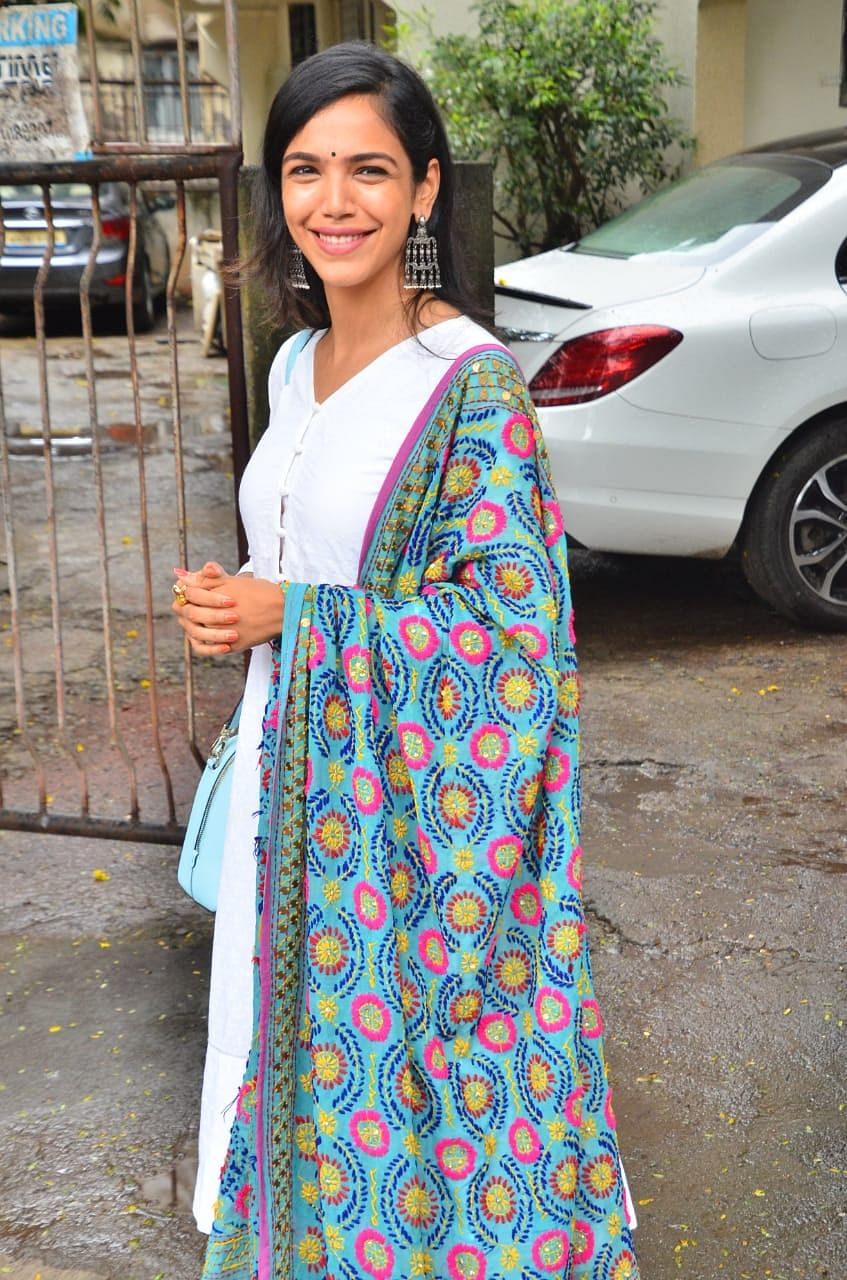 Shriya Pilgaonkar snapped in Juhu