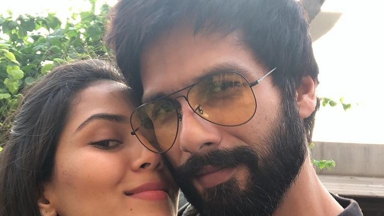 Shahid Kapoor's wife Mira Rajput leaves a funny comment on his recent picture