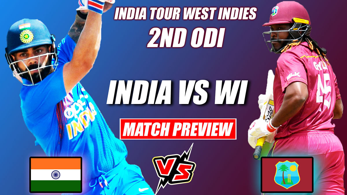 IND vs WI 2nd ODI MATCH PREVIEW, Weather Report