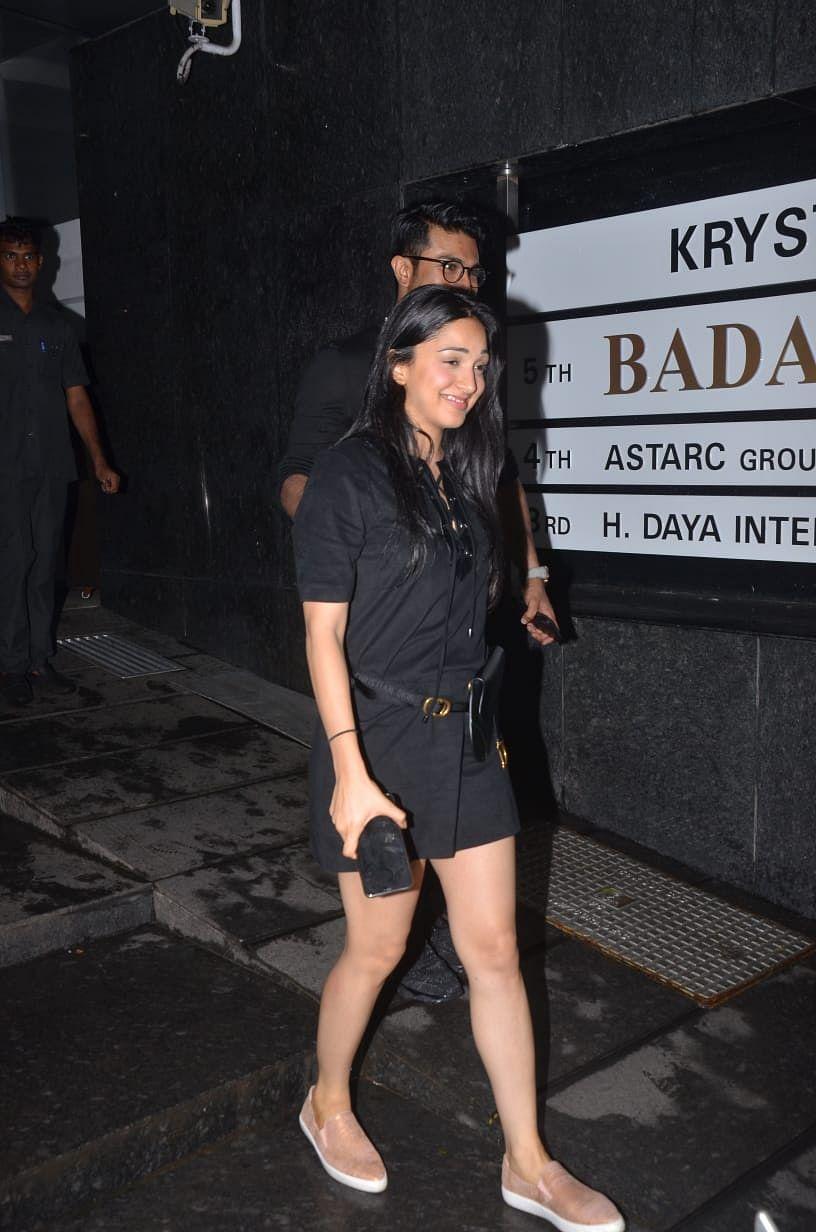 Kiara Advani's mini saddle bag has a mammoth price tag of Rs 1.5 Lakh