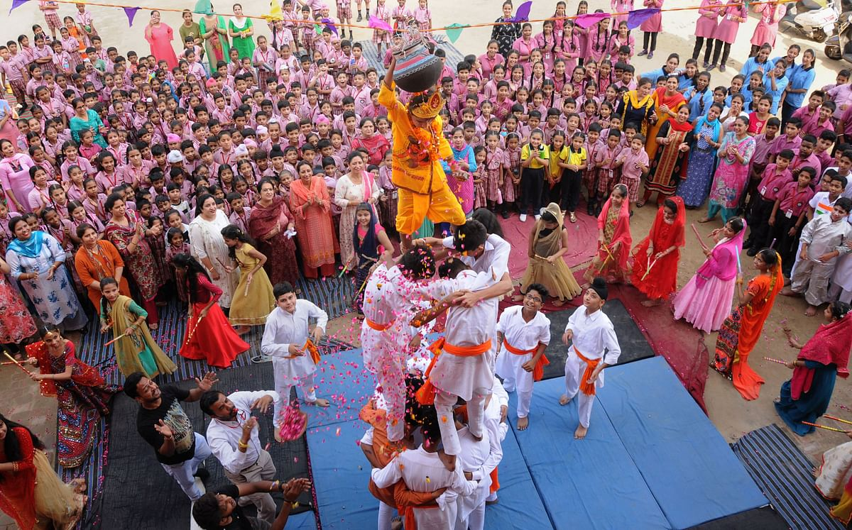Guiding Light: Lessons from Dahi Handi