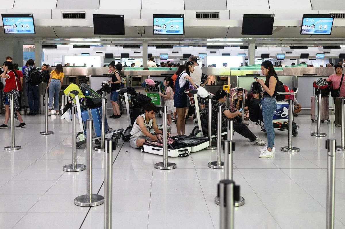 Protesters disrupt Hong Kong airport for 2nd day