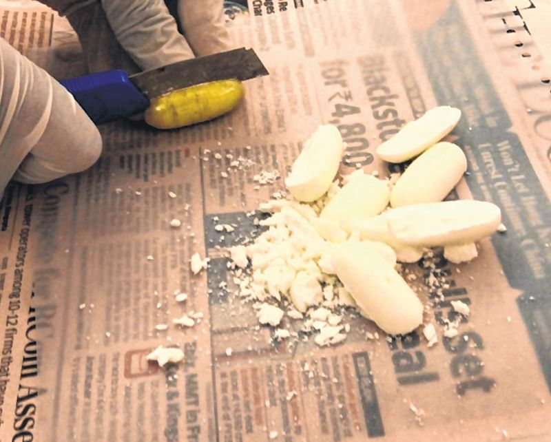 Venezuelan national gulps cocaine capsules worth Rs 4.77 crore, apprehended at airport