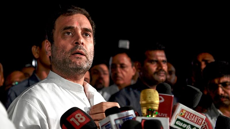 Rahul Gandhi appeals to people to donate relief material