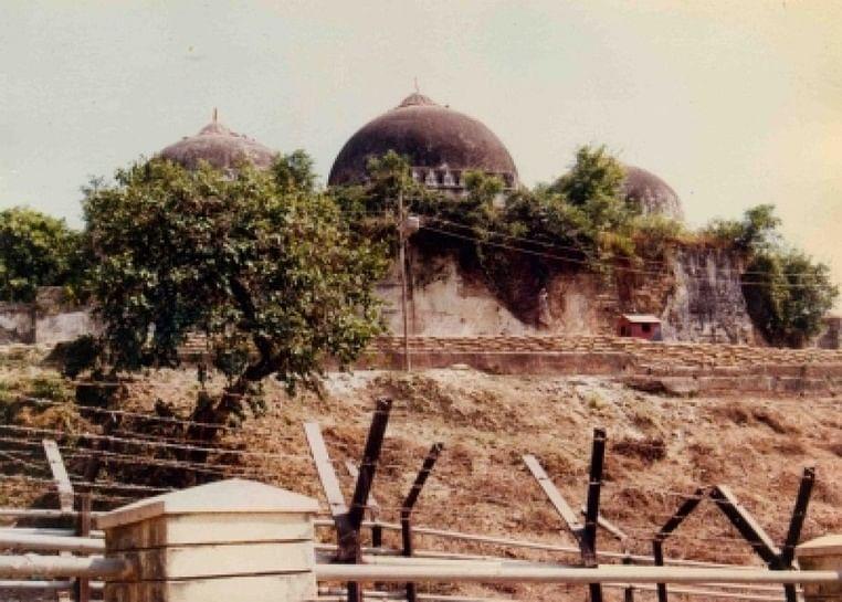 Babri Masjid before demolition