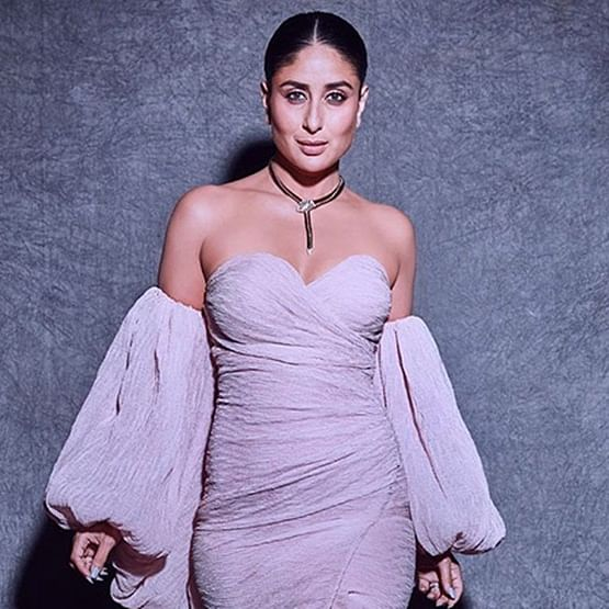 Kareena Kapoor Khan slays in a pastel lilac gown by Yousef Al Jasmi