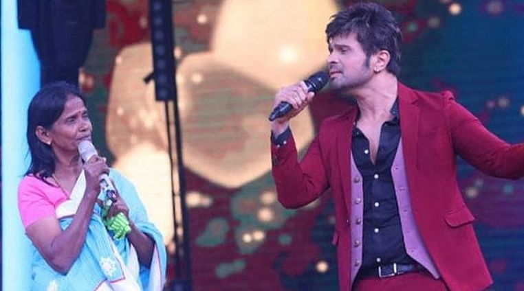 Ranu Mondal records 'Aashiqui mein teri' recreation for Himesh Reshammiya