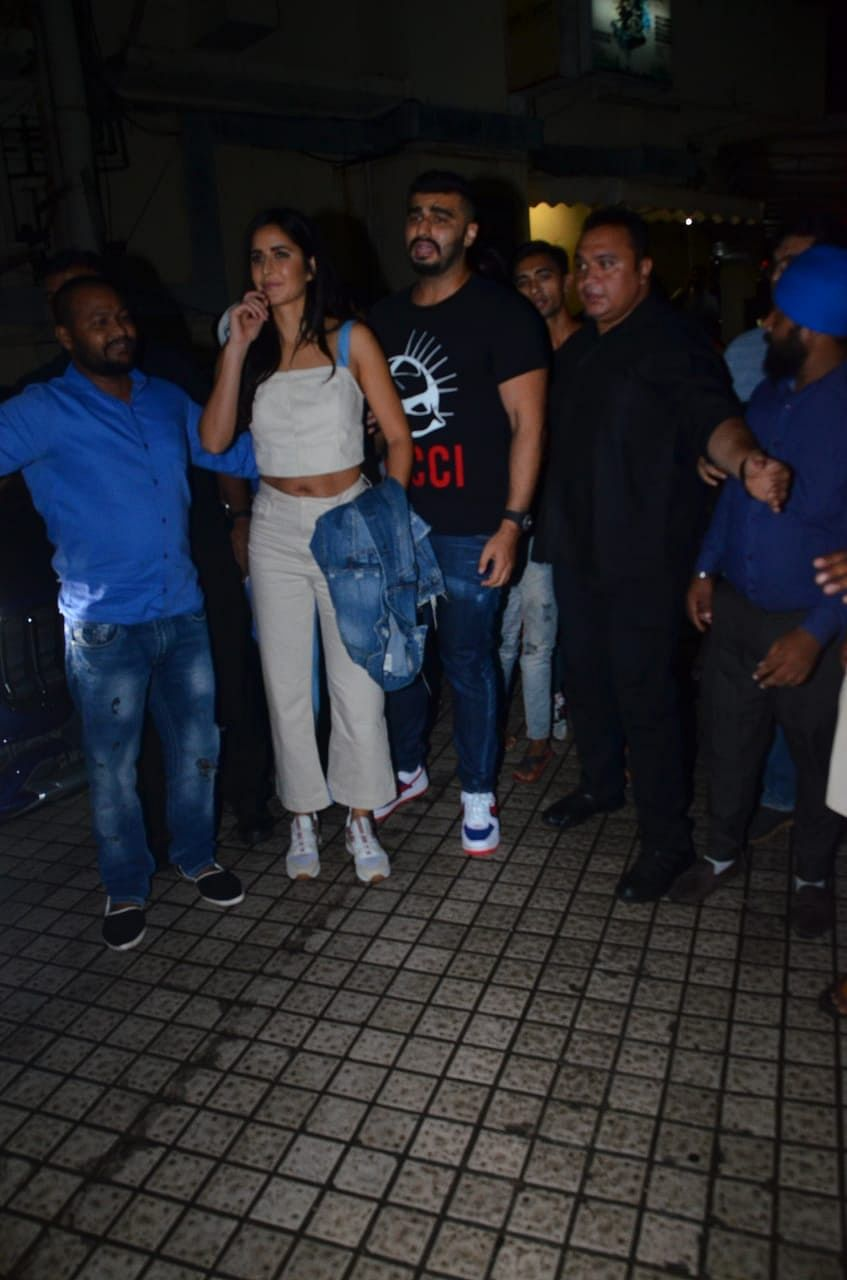 Arjun Kapoor and  Katrina Kaif