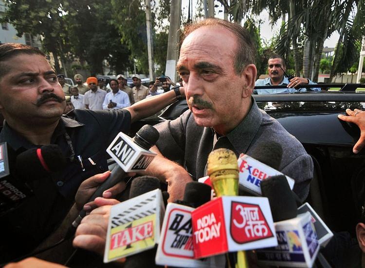 Azad on J&K: People living in fear, despair; democracy has vanished