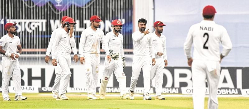 Afghanistan have Bangladesh on the mat