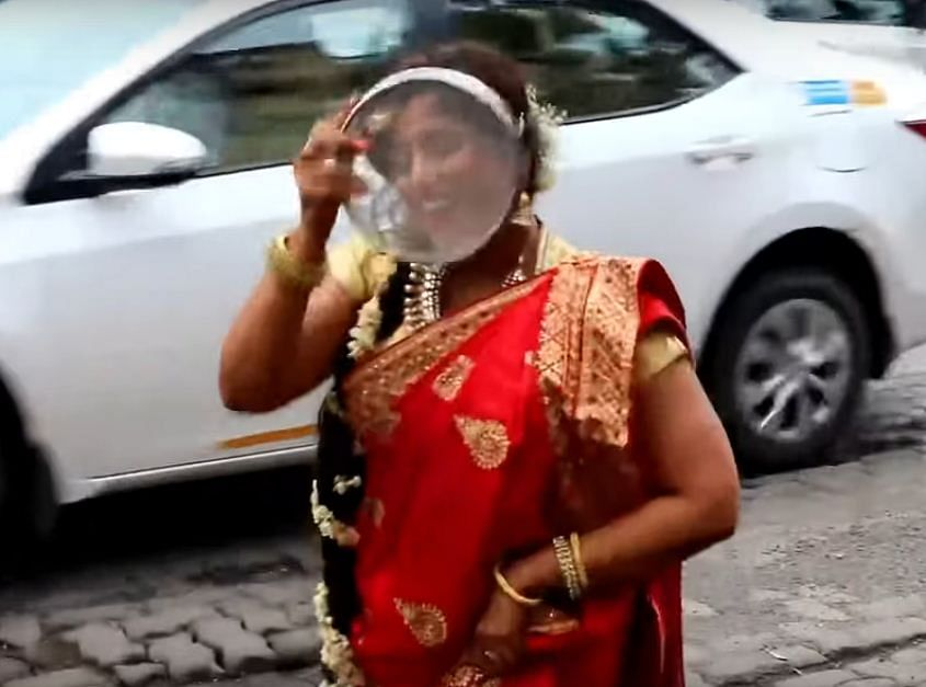 After 'Moonwalk in Bengaluru', RJ Malishka's 'Dekho Chand Aaya' video highlighting Mumbai's potholes goes viral