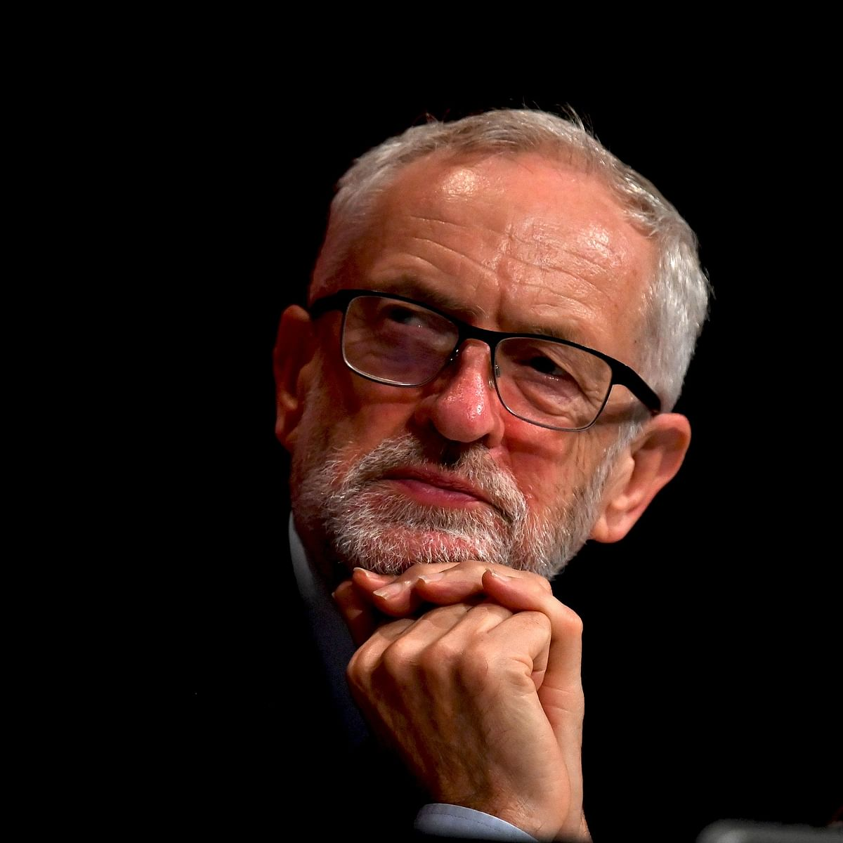 UK's Jeremy Corbyn says will not lead Labour at next election