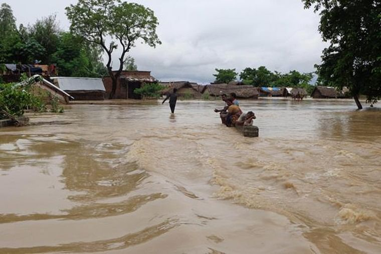 Districts of Ballia, Ghazipur, Auraiya, Jalaun and Hamirpur face flooding threat