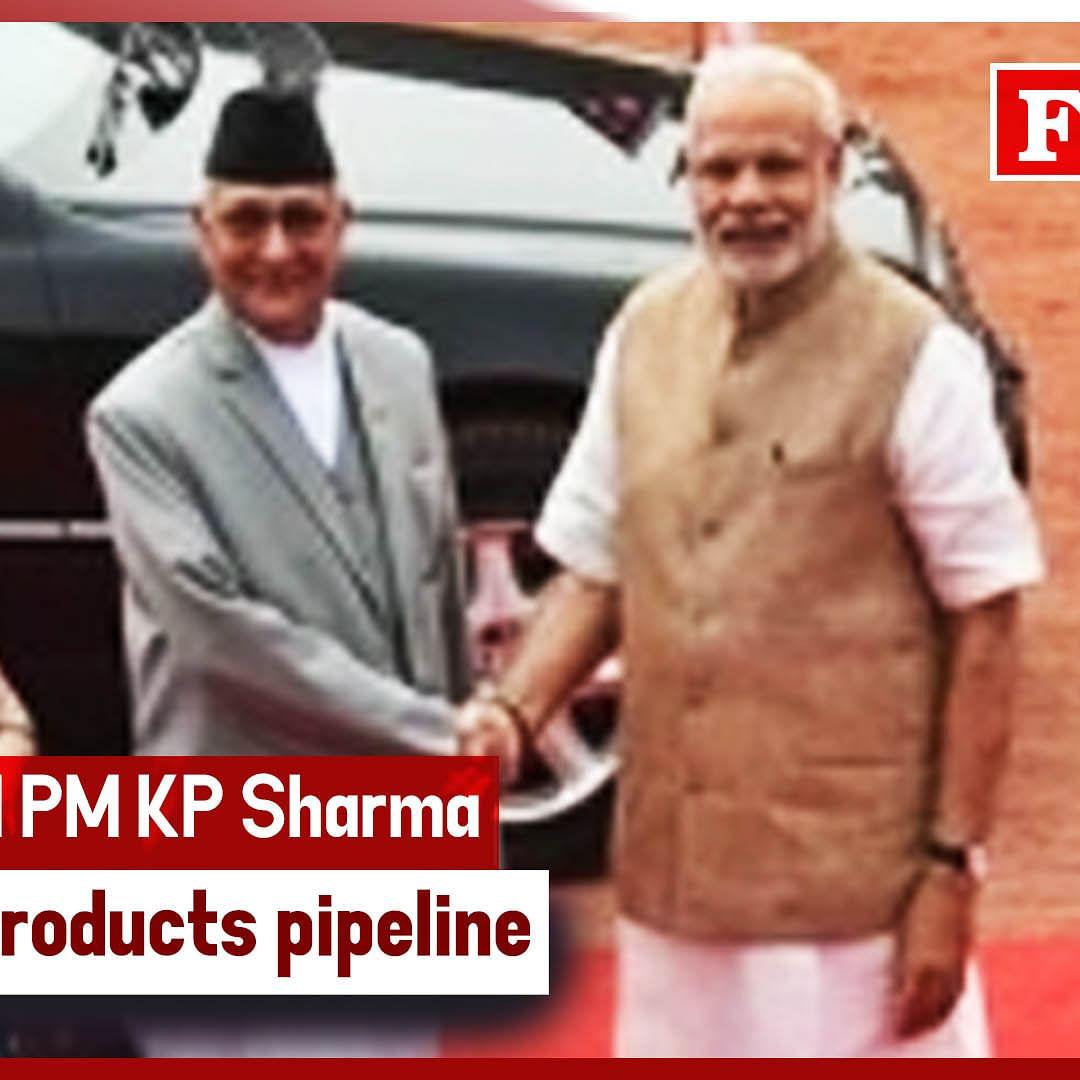 PM Modi & Nepal PM KP Sharma Oli Jointly Inaugurate Cross-Border Petroleum Products Pipeline