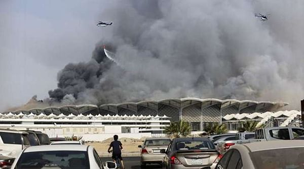 11 injured in Saudi Arabia train station blaze