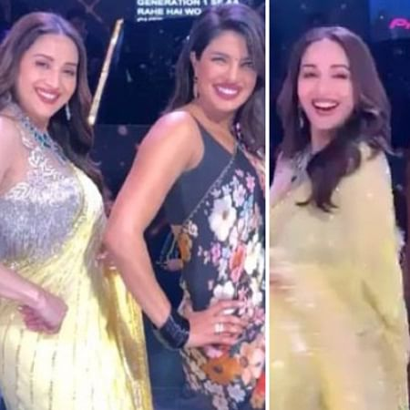 Watch Priyanka Chopra, Madhuri Dixit have a dance-off on 'Dola Re Dola' and 'Pinga'