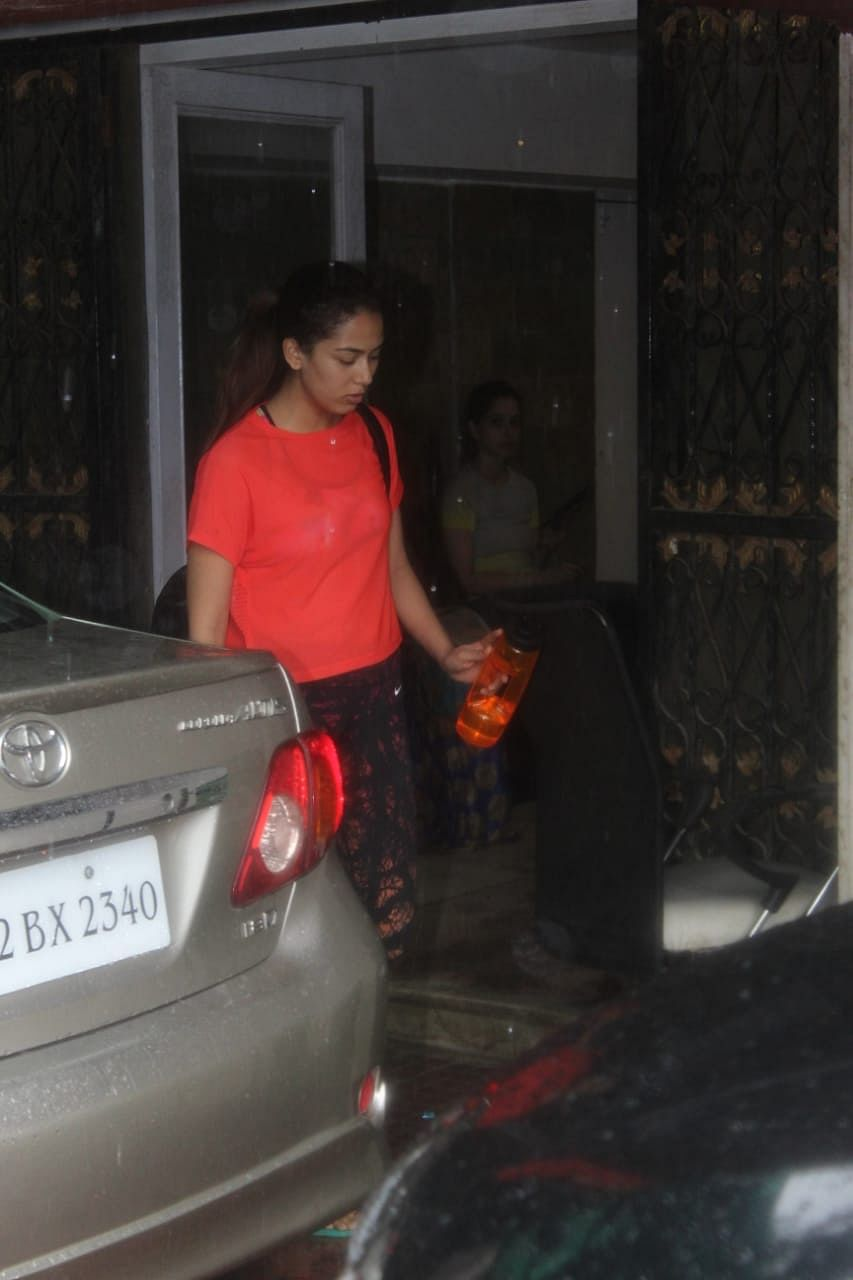 Mira Kapoor spotted at Pilates