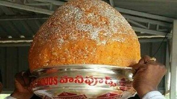 Balapur Ganesh laddu auctioned for Rs 17.6 lakh, record highest price