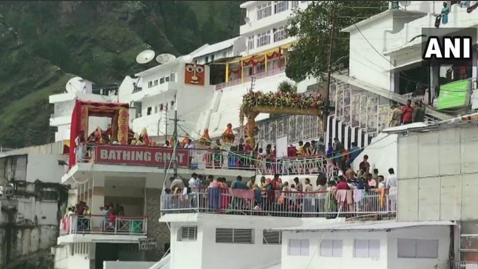 Mata Vaishno Devi shrine atop Trikuta hills in Jammu and Kashmir
