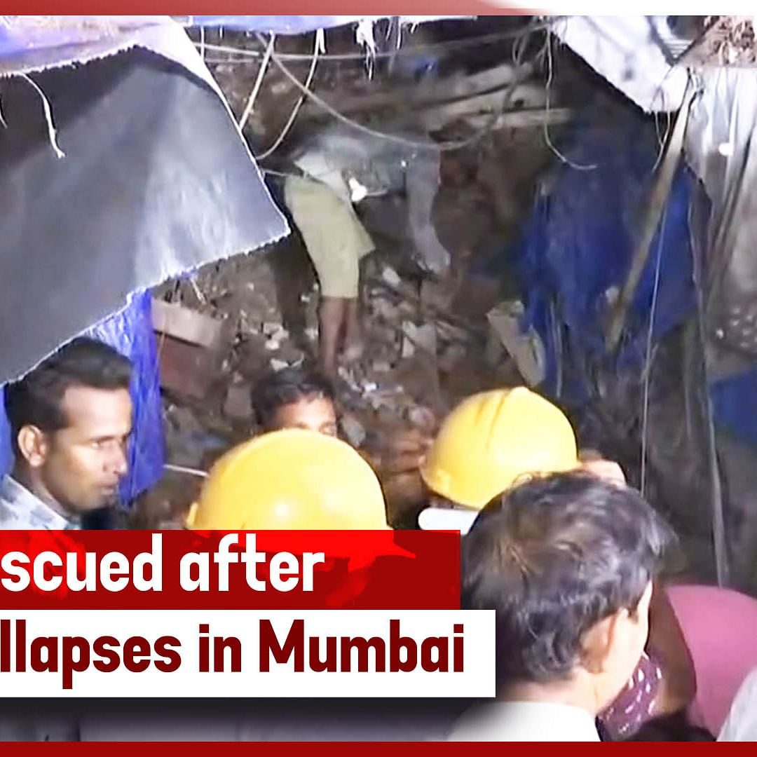 17 Rescued After Building Collapses In Mumbai