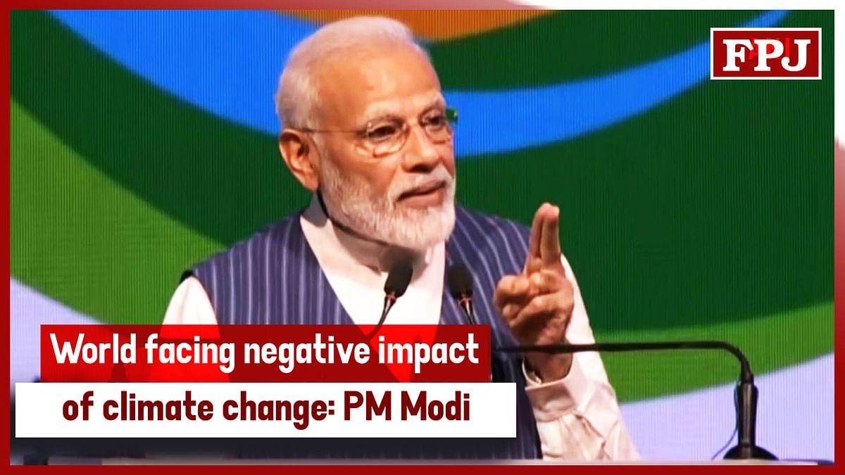 World Facing Negative Impact Of Climate Change PM Modi