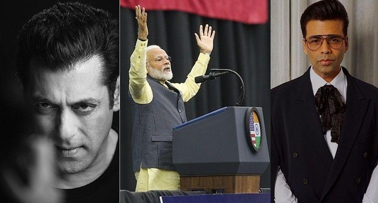 Karan Johar to Salman Khan, Bollywood hails PM Modi's speech at 'Howdy Modi' event