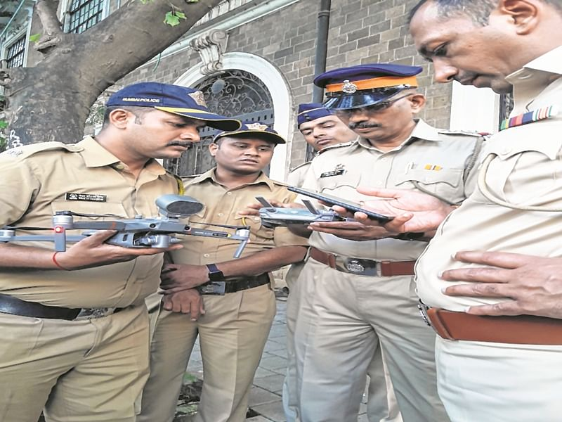 Mumbai: Cops grab chance to 'test drive' Chinese drones