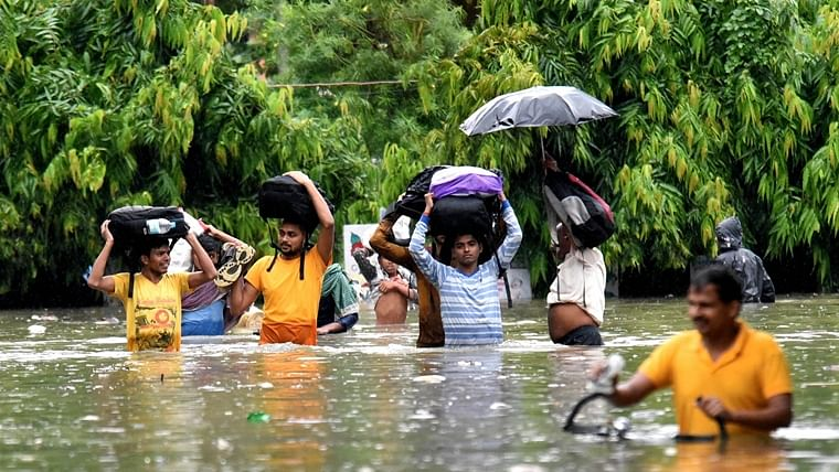 """Heavy rains in Bihar kill 24, state government issues """"red alert"""""""