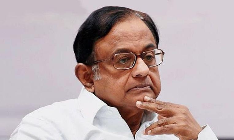 Former finance Minister P.Chidambaram