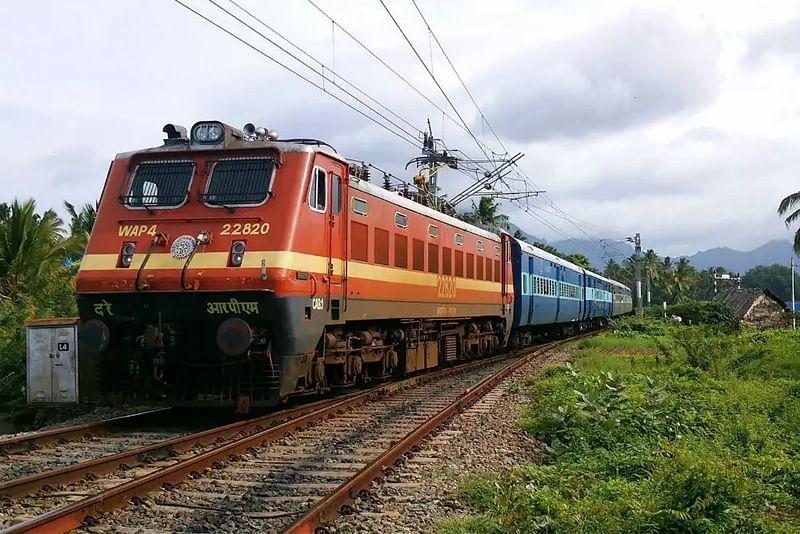 Bapu pics on CR trains for Gandhi Jayanthi
