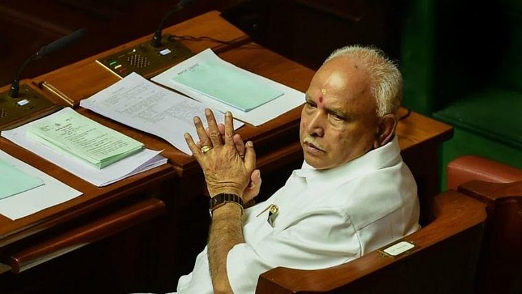 Chief Minister of Karnataka B S Yediyurappa