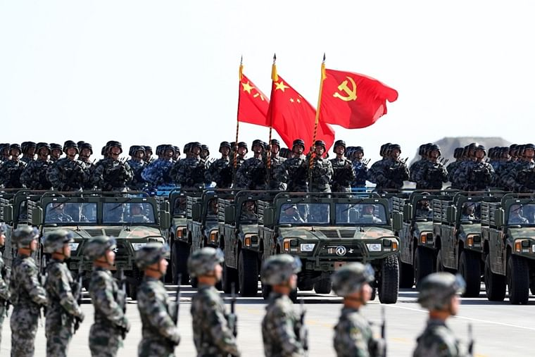 China to conduct giant military parade on October 1 to celebrate National Day
