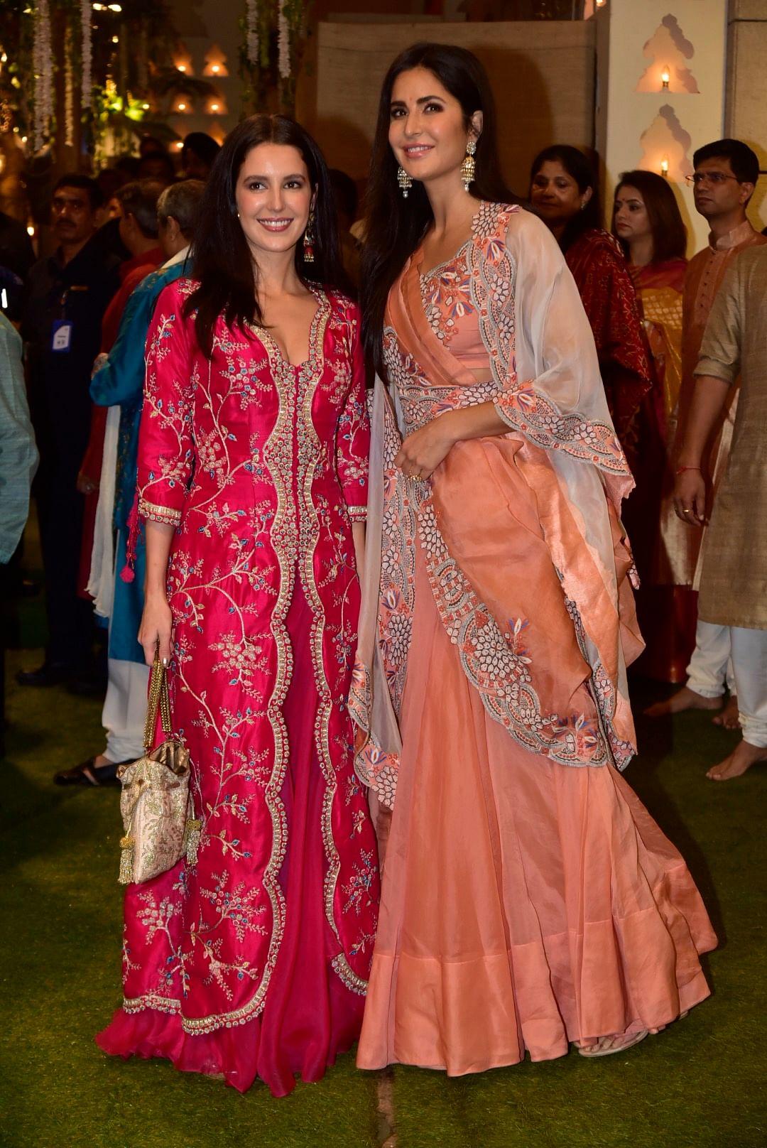 Isabelle with sister Katrina Kaif