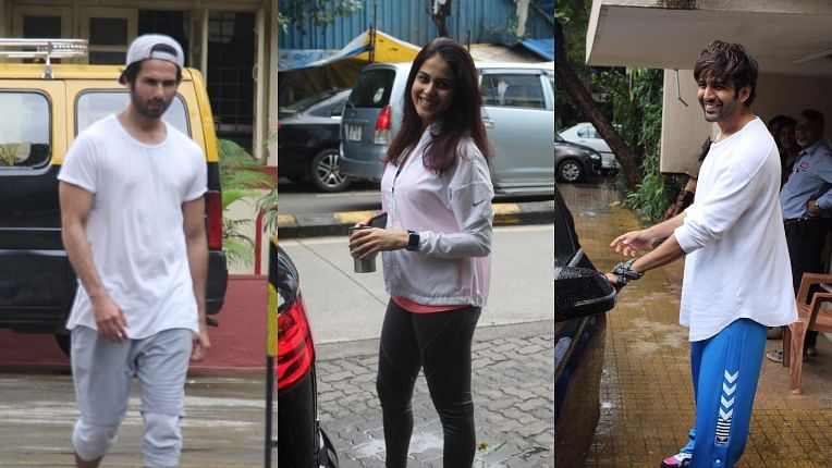 Paparazzi Files: Genelia Deshmukh, Kartik Aaryan, Shahid Kapoor captured by shutterbugs