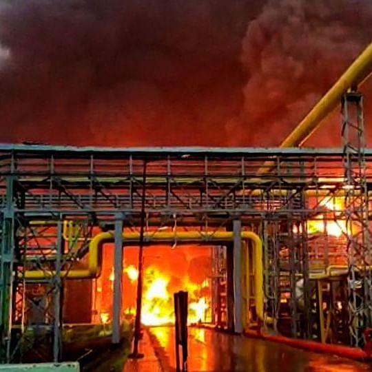 4 dead in ONGC unit blaze in Navi Mumbai