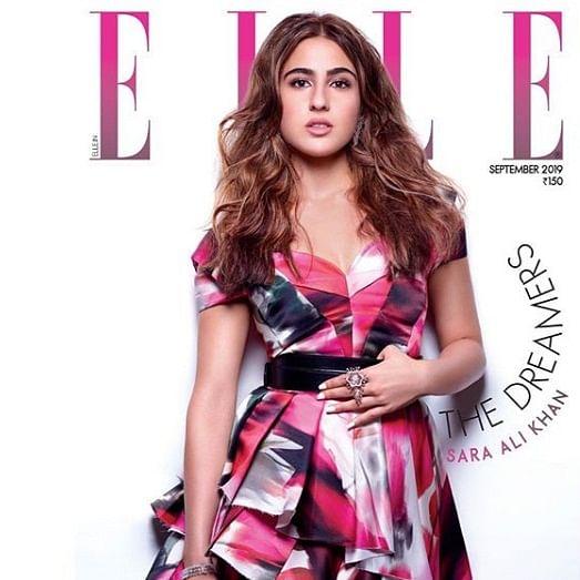 Sara Ali Khan stuns as Elle magazine's cover girl