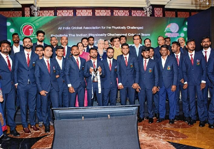 Disabled cricketers get BCCI's recognition