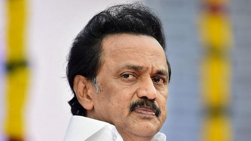 MK Stalin slams AIADMK government after fall of hoarding leads to woman's death