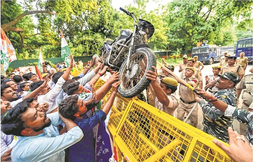 PM Modi dispensation at the Centre pushed the amendments in the Motor Vehicle Act