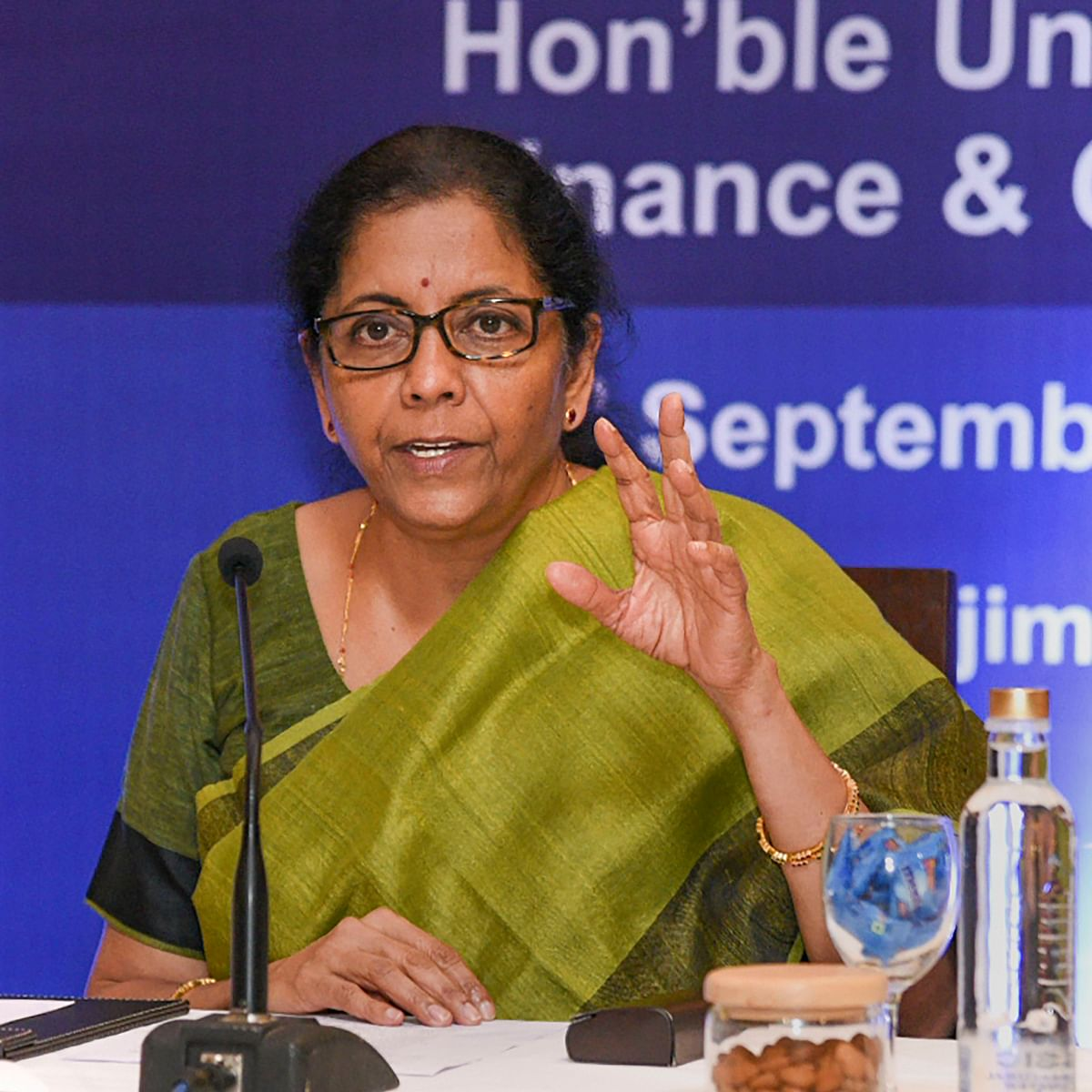 No liquidity issue after 'tonic-like' meet with banks: FM Sitharaman