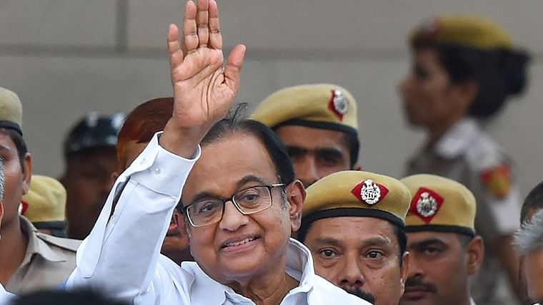 After 106 days in Tihar jail, P Chidambaram finally walks out
