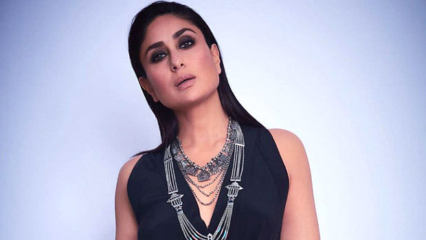 Kareena Kapoor Khan looks mesmerizing in a black Silvia Tcherassi dress