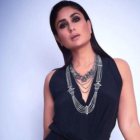 Kareena Kapoor Khan looks mesmerizing in a black Silvia Tcherassi dress