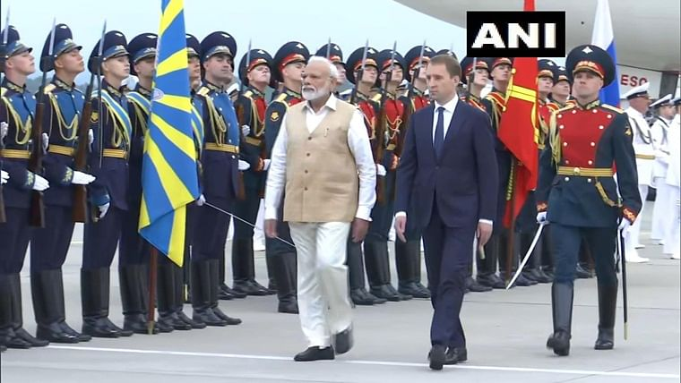 PM Narendra Modi arrives in Russia on 2-day visit, to hold summit talks with Vladimir Putin