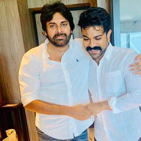 Ram Charan pens an emotional post for 'mentor' Pawan Kalyan on his birthday