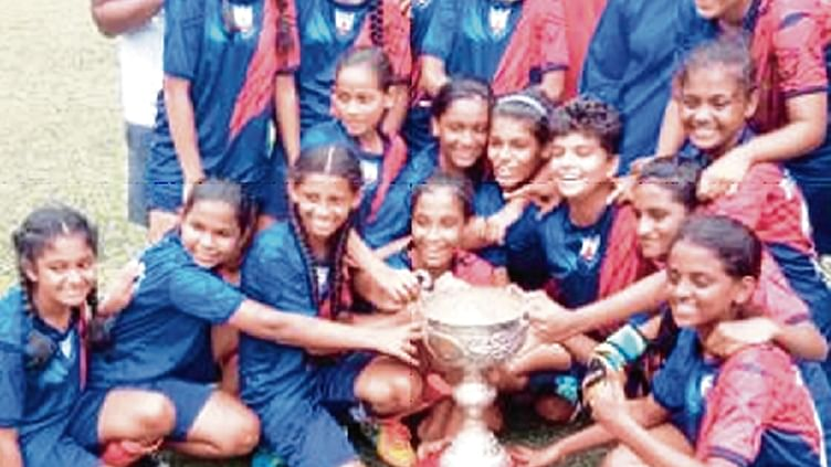 St Thomas Academy emerged as the champions of the MSSA under-16 girls football